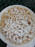 Funnel cake has no calories.